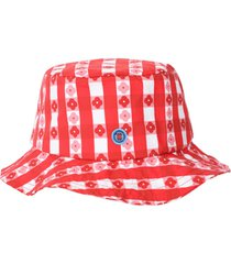 the stone crab hat, gingham & floral