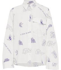 morwyn overhemd met lange mouwen wit baum und pferdgarten