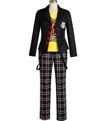 persona 5 sakamoto ryoji cosplay costume outfit school uniform