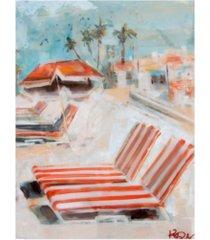 "kym de los reyes the lounge canvas art - 36.5"" x 48"""