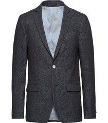 2 col weave blazer blazer colbert blauw lindbergh