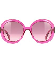gucci gucci gg0712s transparent pink sunglasses