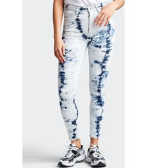 high waist hailey skinny jeans - blå