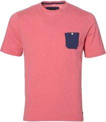 sale - jac hensen t-shirt - modern fit - rood