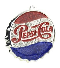 northlight pepsi cola bottle cap logo christmas ornament