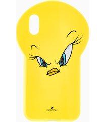 custodia per smartphone looney tunes titti, iphoneâ® xr, giallo