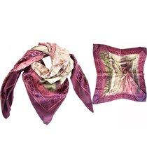 pañuelo violeta almacén de parís