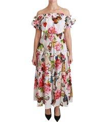 cotton fairy tale off shoulder jurk