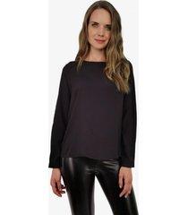 blusa emilia negra jacinta tienda