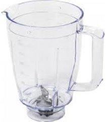 copo para liquidificadores 2l com alça, hélice e sem tampa ri2103/04 branco philips walita - kanui