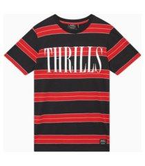 men's max print yd stripe t-shirt