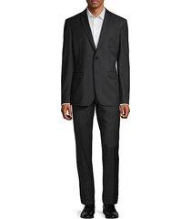 modern-fit 2-piece tonal pinstripe wool suit