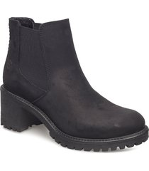 woms boots shoes boots ankle boots ankle boots with heel svart tamaris
