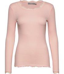 frhizamond 2 t-shirt stickad tröja rosa fransa