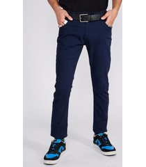 pantalon five bolsillo azul sioux