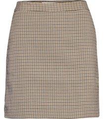 charlott kort kjol brun mango