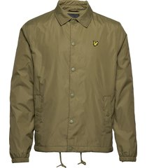 coach jacket dun jack groen lyle & scott