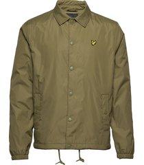 coach jacket dun jack groen lyle & scott