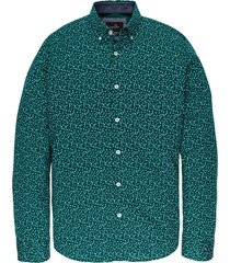 long sleeve shirt cf print alpine green