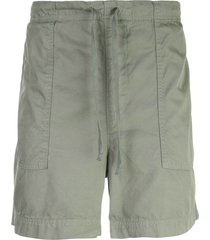 save khaki united twill bermuda shorts - green