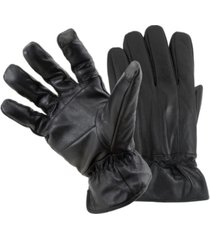 status men's leather smart gloves
