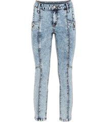 jeans cropped (blu) - rainbow