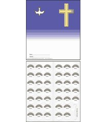 quarter coin folders for christian organizations fundraising holds $10.00 - 5...