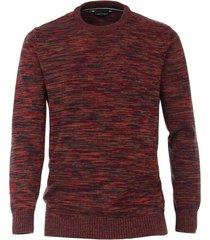 casa moda trui rood gemêleerd