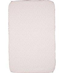 conjunto de lençol para berço portátil next2me e next2magic com 2 peças -miss pink