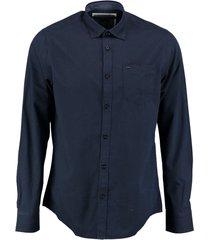 vanguard blauw overhemd