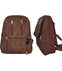 mochila marrón sabetai