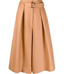 atu body couture belted skirt - orange