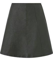 kjol vicommit hw short coated skirt