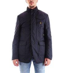 refrigiwear g90703 coat men dark blue