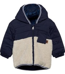 hooded jacket gevoerd jack blauw timberland