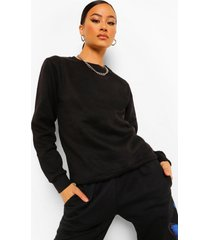 basic sweater, black