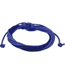 pulseira decovian ajustável azul