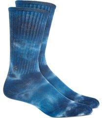 sun + stone men's tie-dyed socks