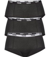 puma mini short 3p pack hipstertrosa underkläder svart puma