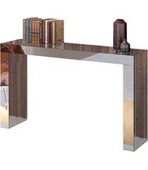 mesa aparador em mdf gênova 90x150cm espelhado