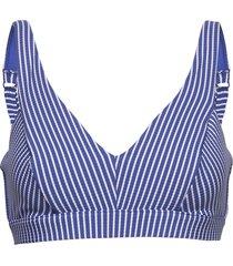 dd bra bikinitop blauw seafolly