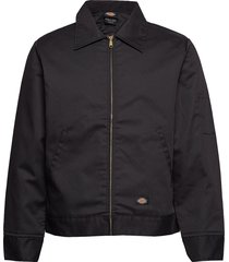 lined eisenhower jacket tunn jacka svart dickies
