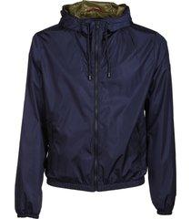 fay zip-up jacket
