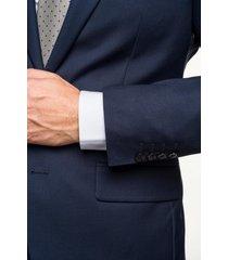 garnitur bianco 313 niebieski slim fit