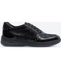 zapato casual mujer stonefly z1cp negro