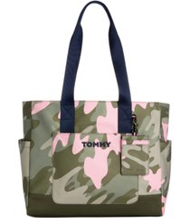 tommy hilfiger piper recycled nylon tote