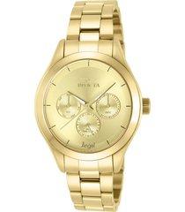 reloj invicta 12466 oro acero inoxidable