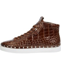 high sneaker kennel & schmenger brun