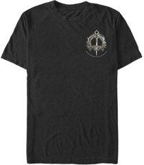 fifth sun men's mackenzie clan brooch left chest logo short sleeve t- shirt