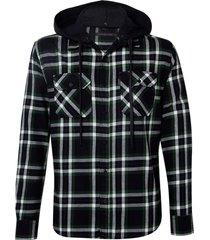 camisa john john trevor algodão xadrez masculina (xadrez, gg)